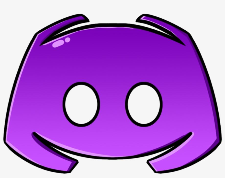 Discord logo transparent purple