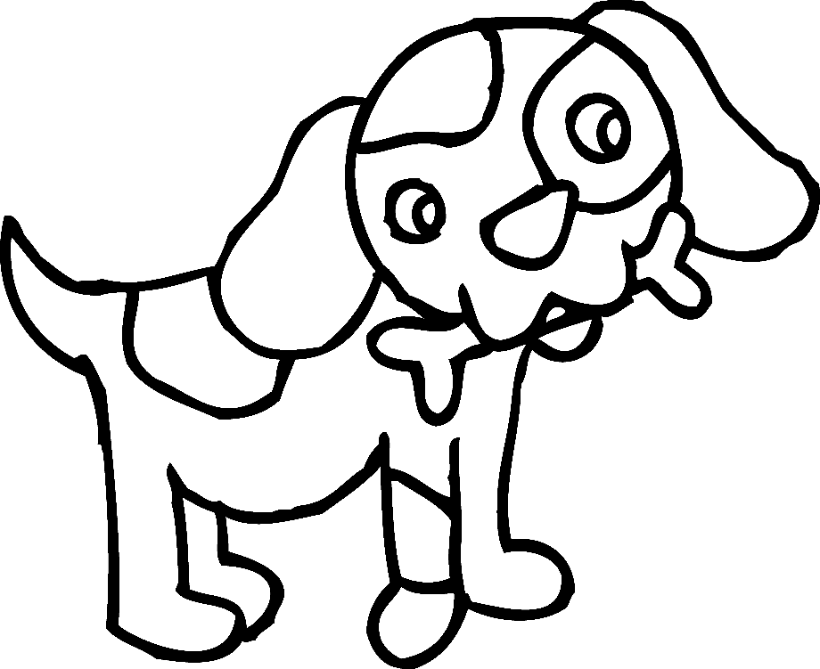 Dog clipart face