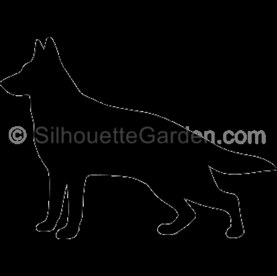 Dog clipart german shepherd pin