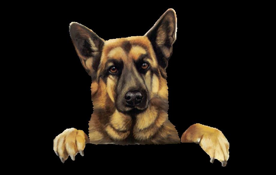 Dog clipart german shepherd funny