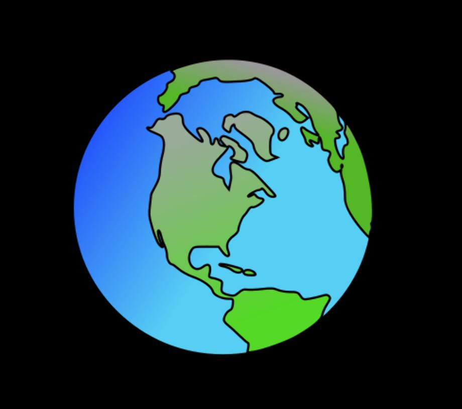 Globe clipart public domain cartoon