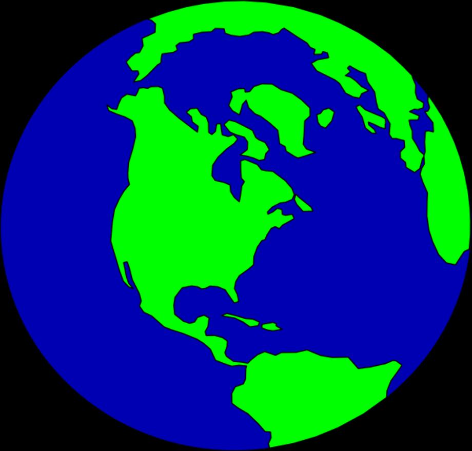 Globe clipart public domain free