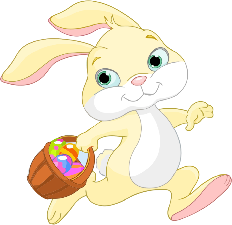 Download High Quality easter bunny clipart running ...