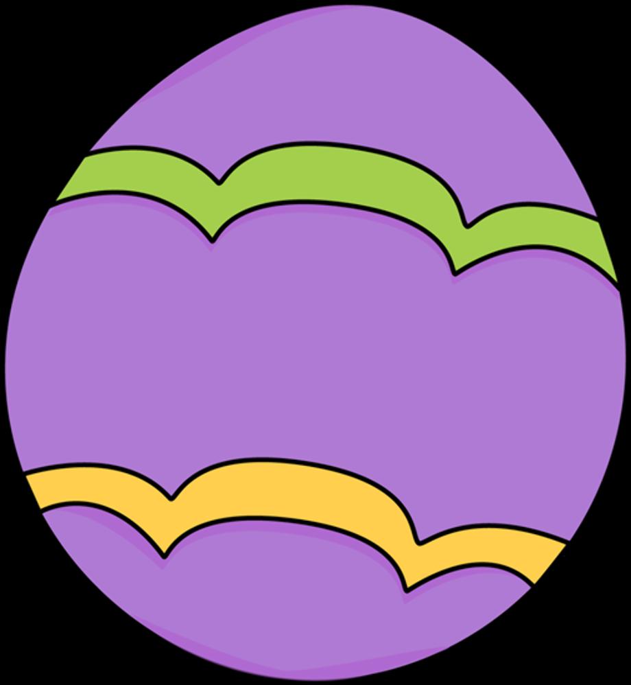 easter egg clipart purple