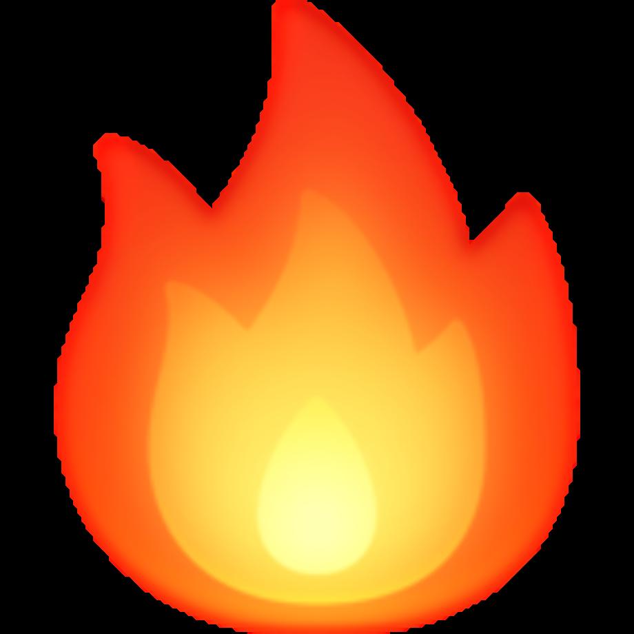 Download High Quality fire emoji transparent instagram ...