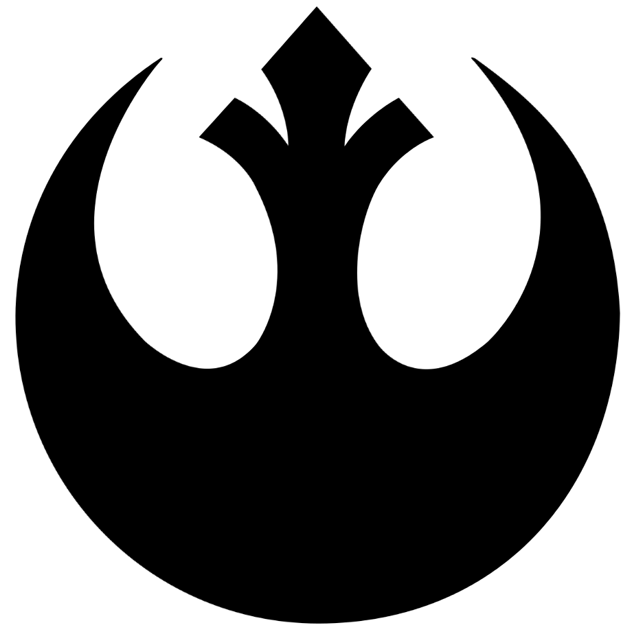 Rebel logo galactic empire