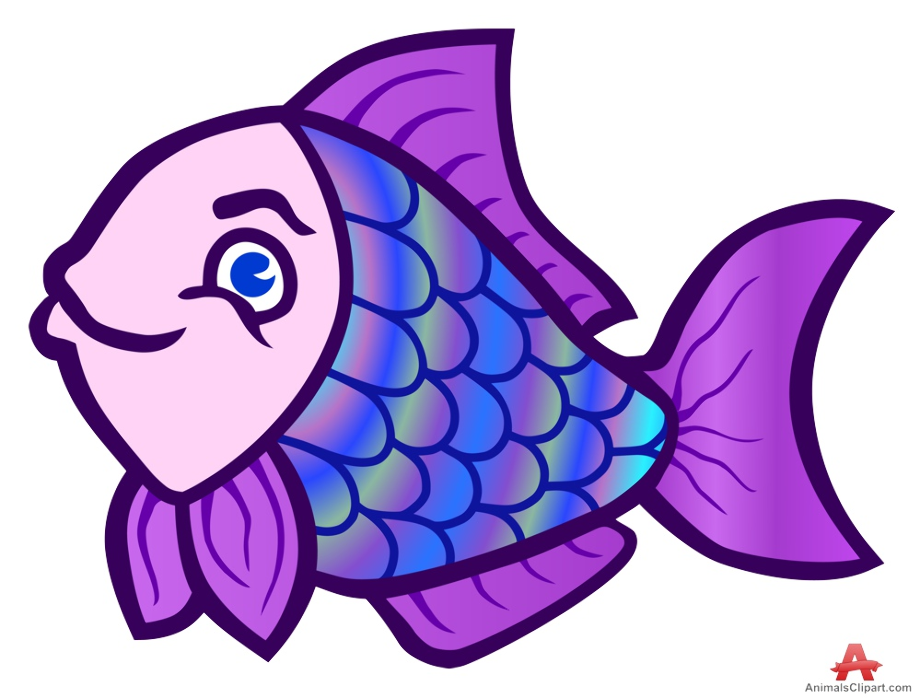 Fish purple