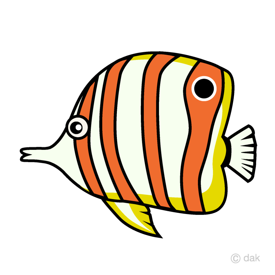 Fish clipart tropical angel