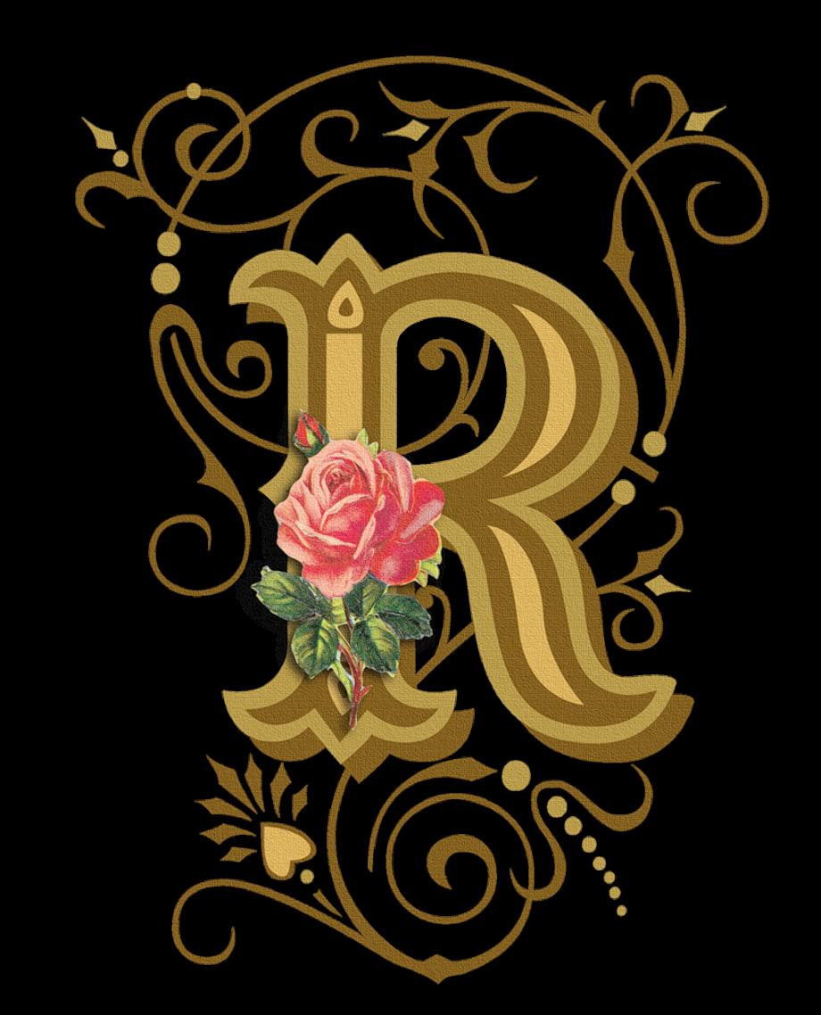 Download High Quality Flower Clipart Alphabet R