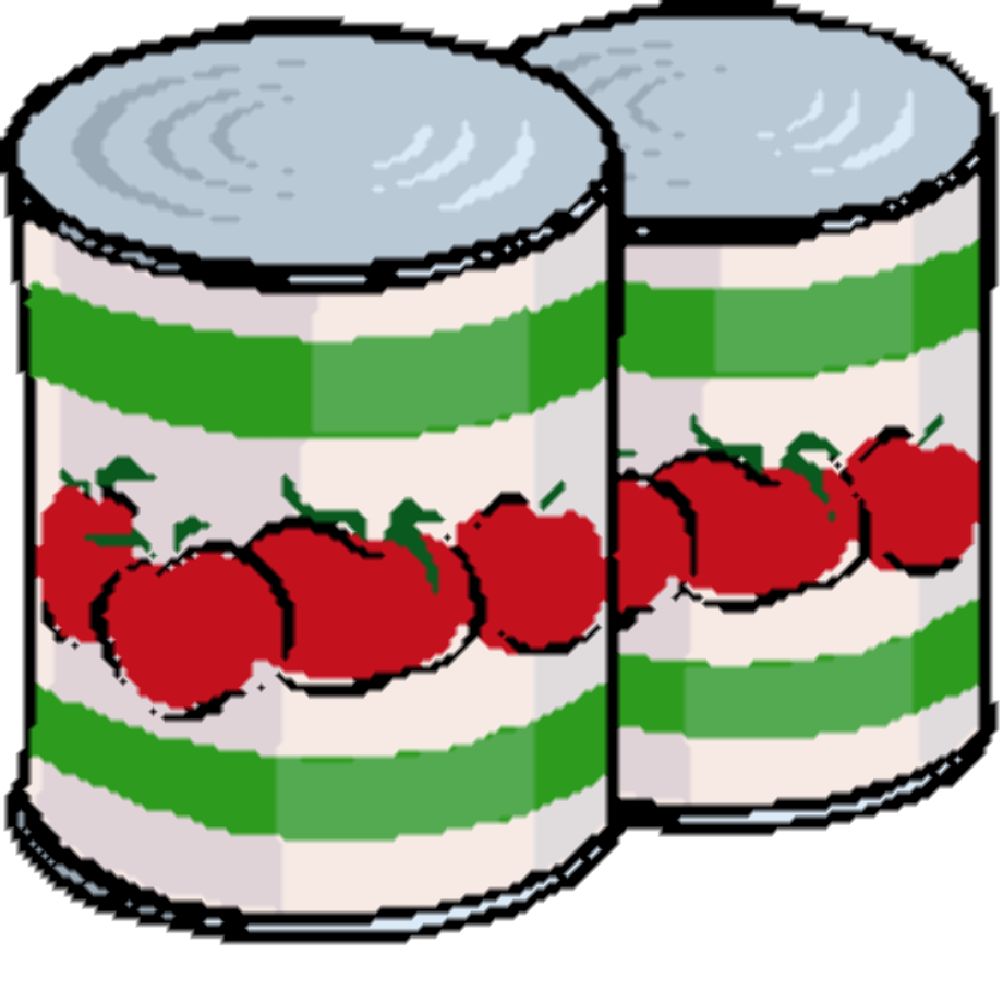 Food clipart canned