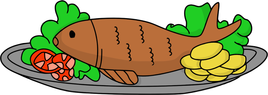 Food clipart animal fried