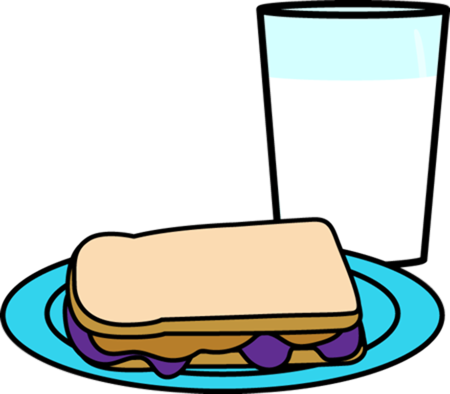 Food clipart milk with