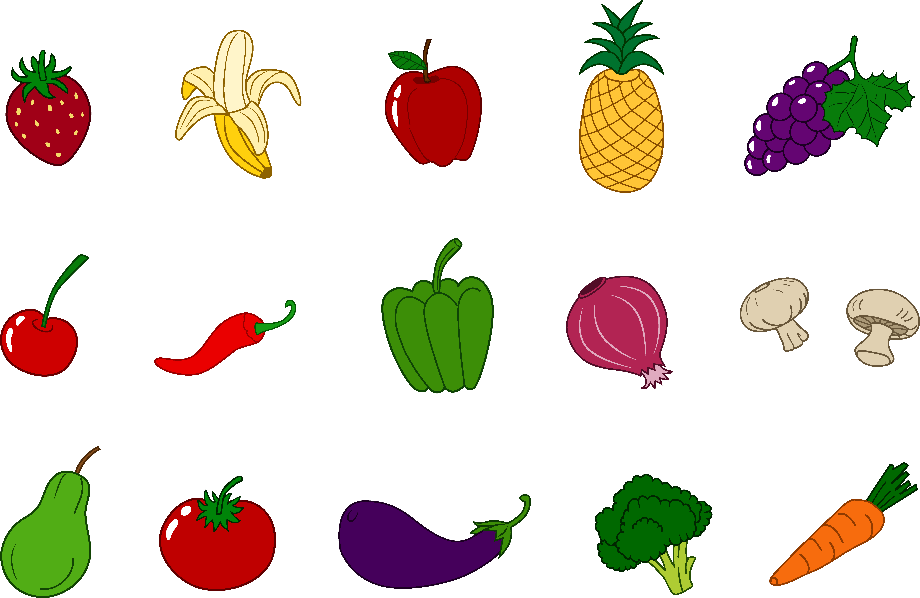 Vegetables clipart free