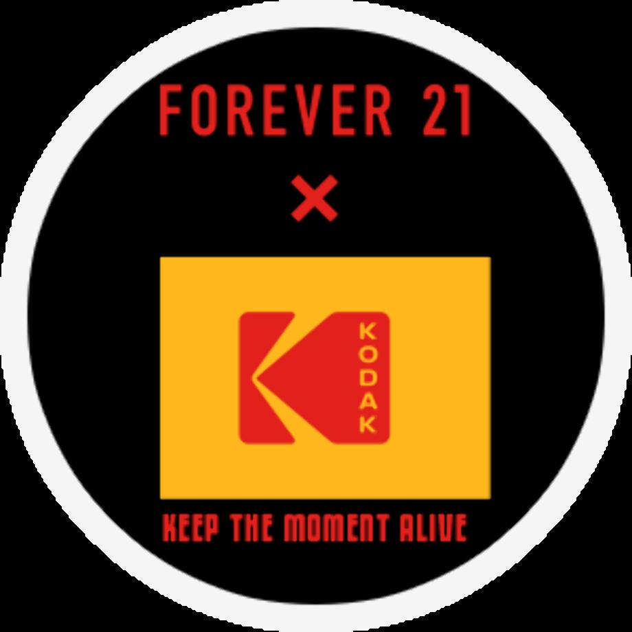 Forever 21 logo symbol rhinestone
