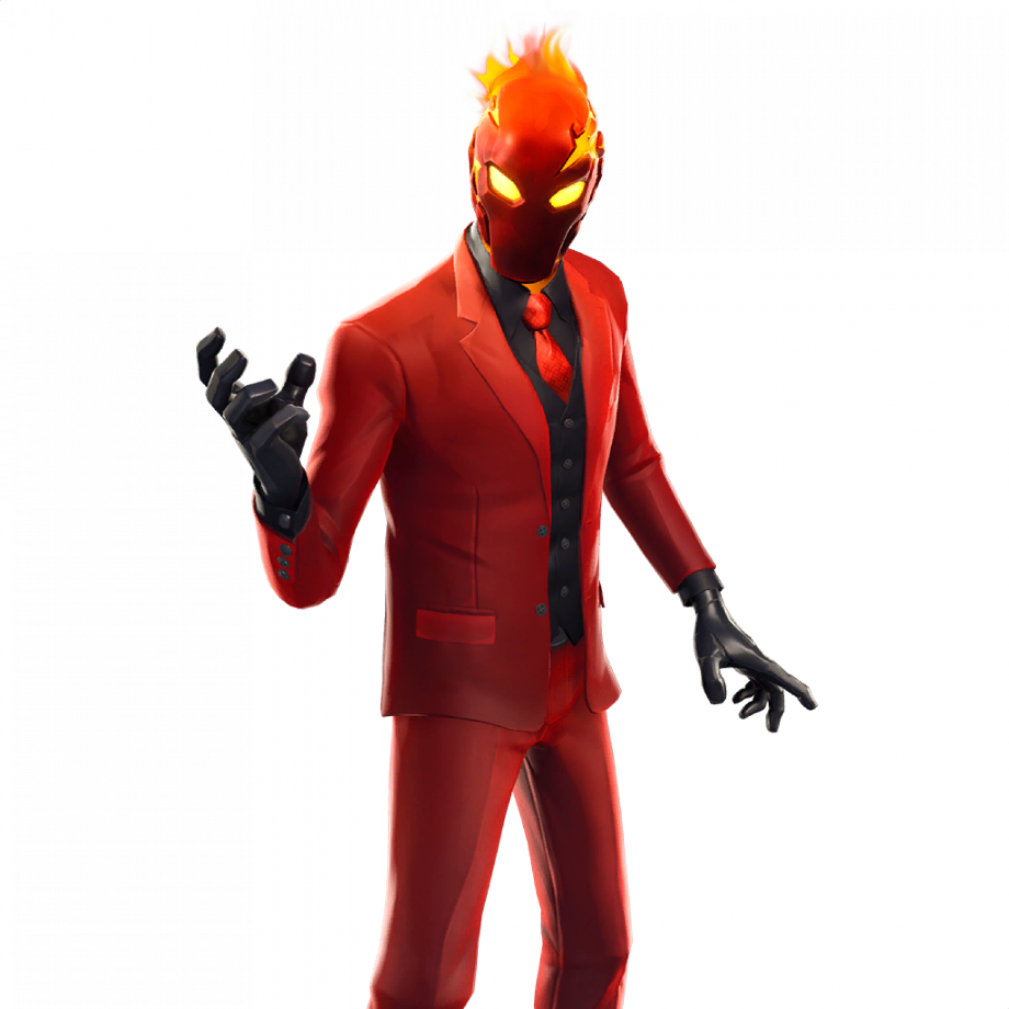 Red Logo With A Rocket: Download High Quality Fortnite Transparent Full