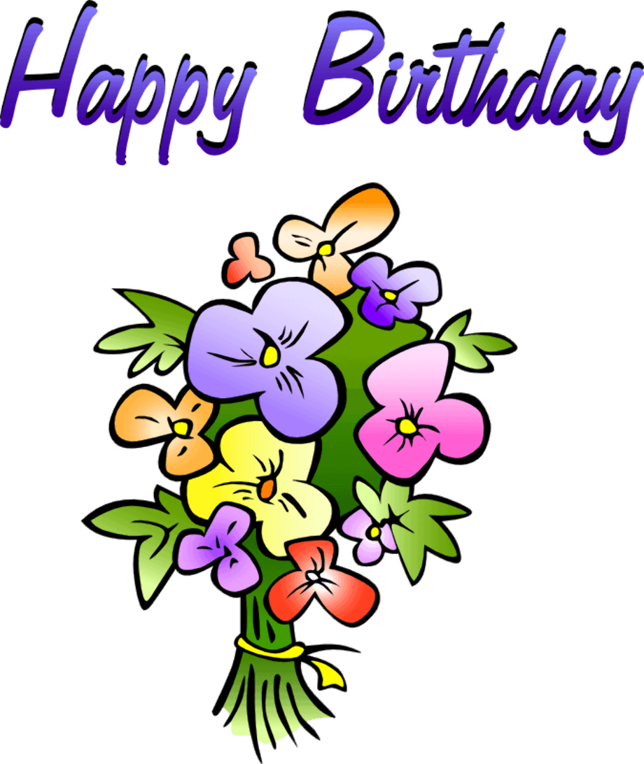 Free birthday clipart friend