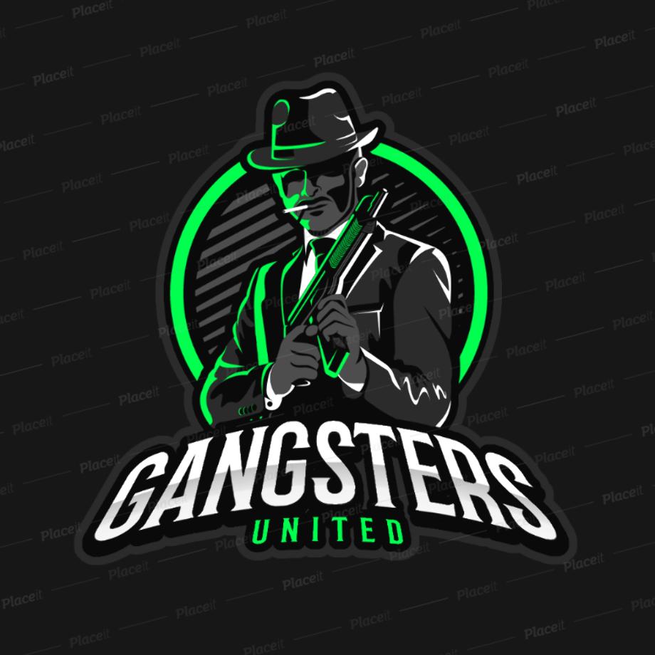 Gaming logo maker emblem