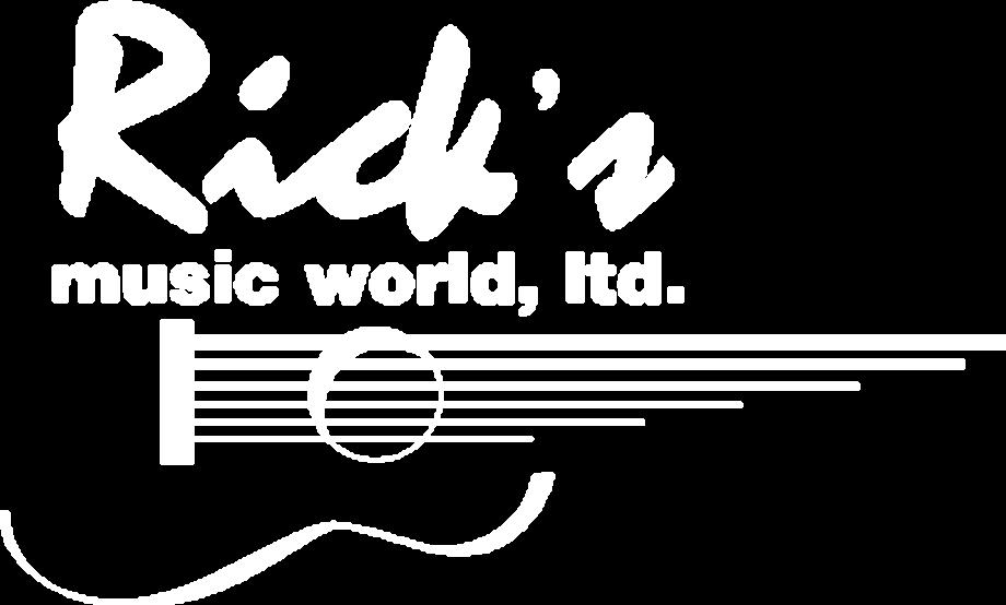 Guitar logo white shop