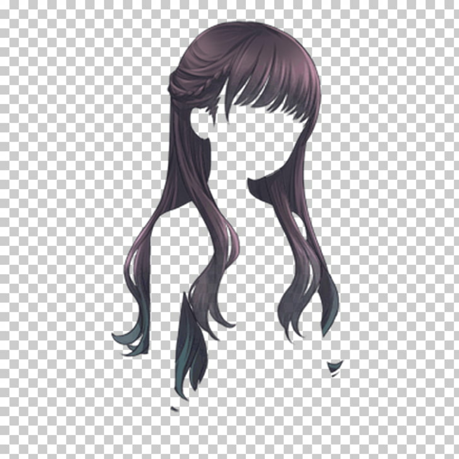 download high quality hair clipart anime transparent png