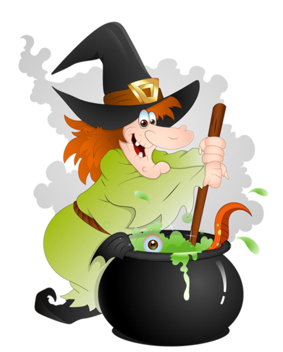 Witch clipart creepy pin