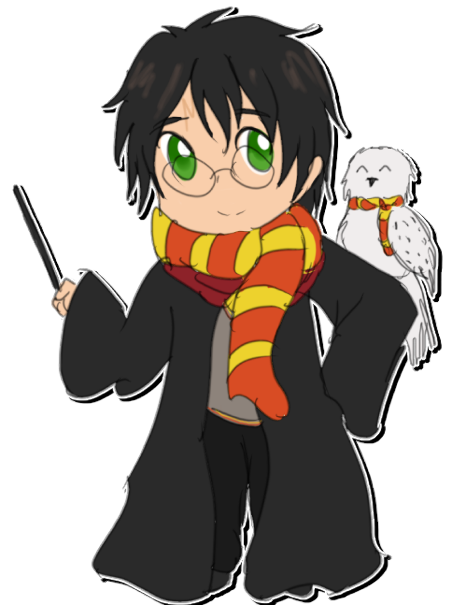 Download High Quality harry potter clipart chibi ...