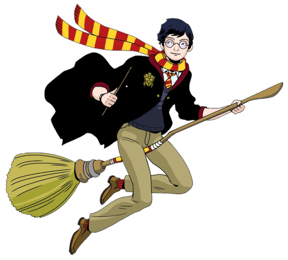 Download High Quality harry potter clipart flying ...