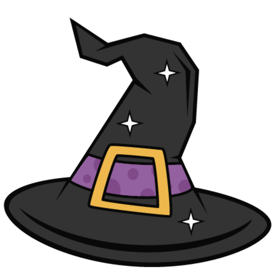 Download High Quality hat clipart witch Transparent PNG ...