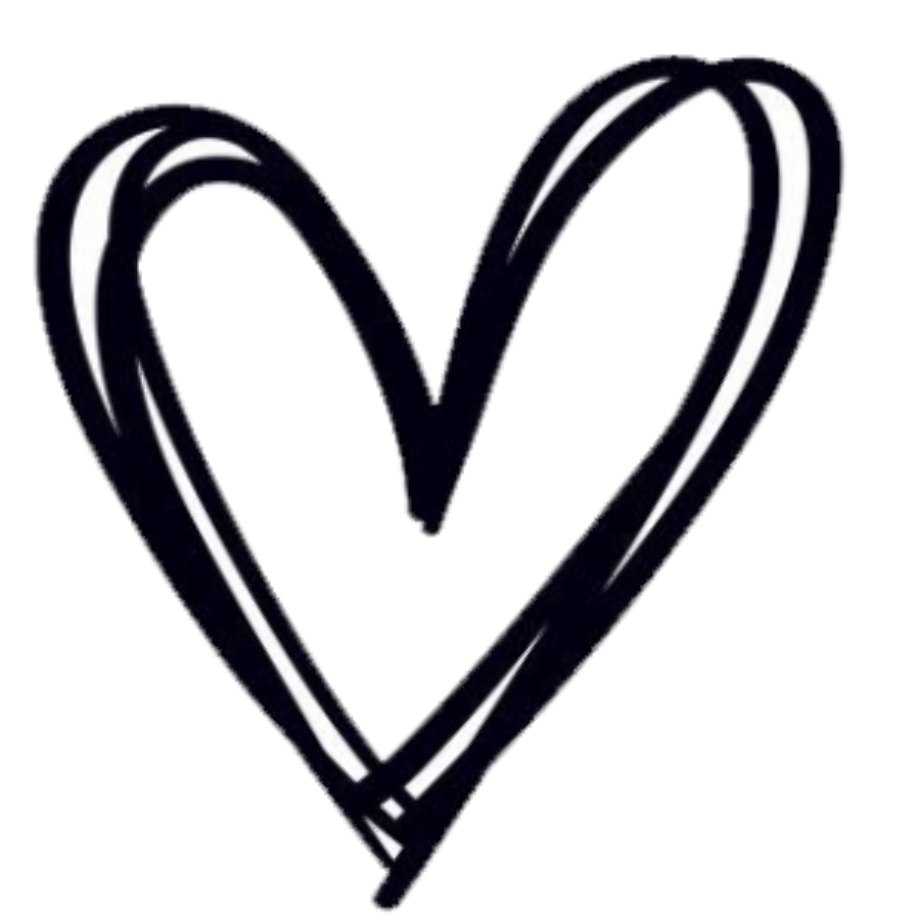 Download High Quality hearts clipart outline Transparent ...