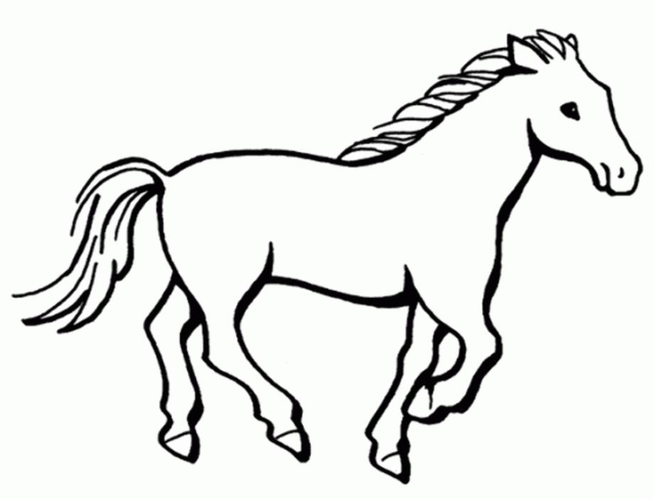 horse clipart printable