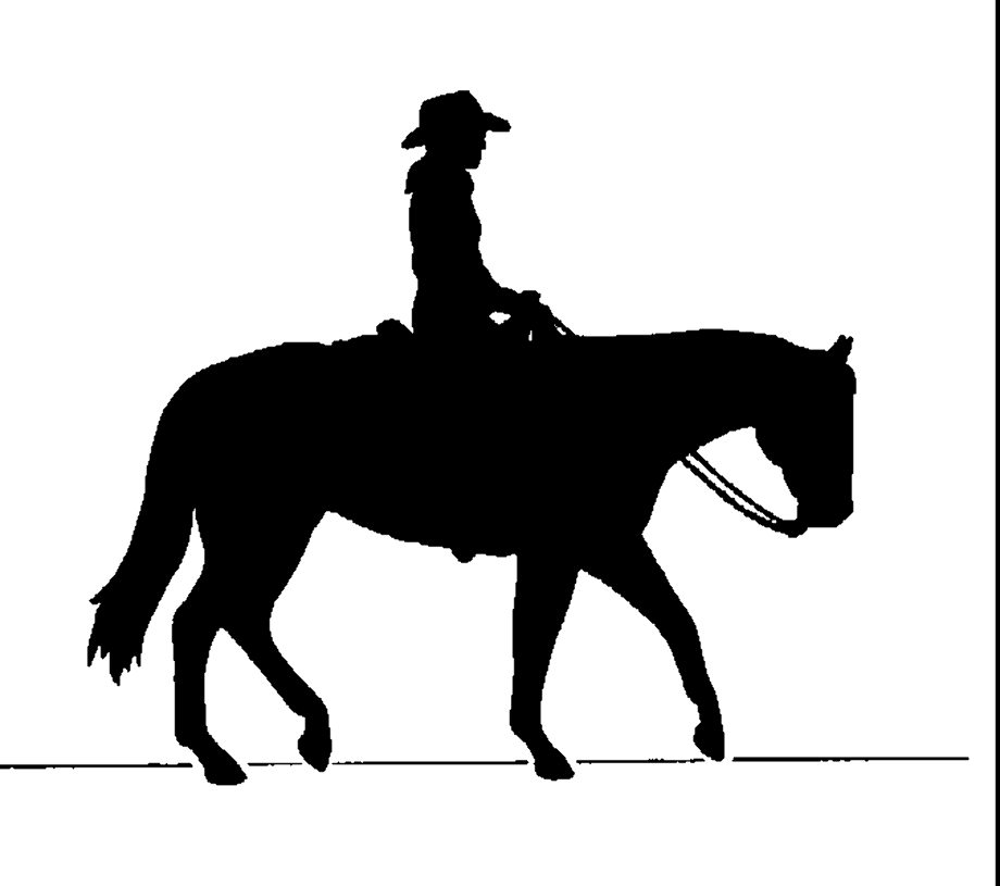 horse clipart western