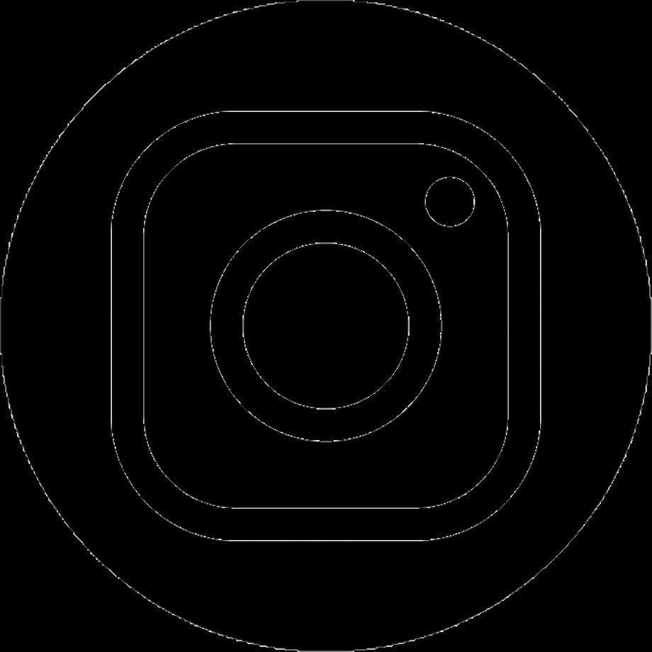 Instagram transparent logo dark