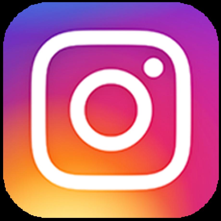 Instagram logo business card
