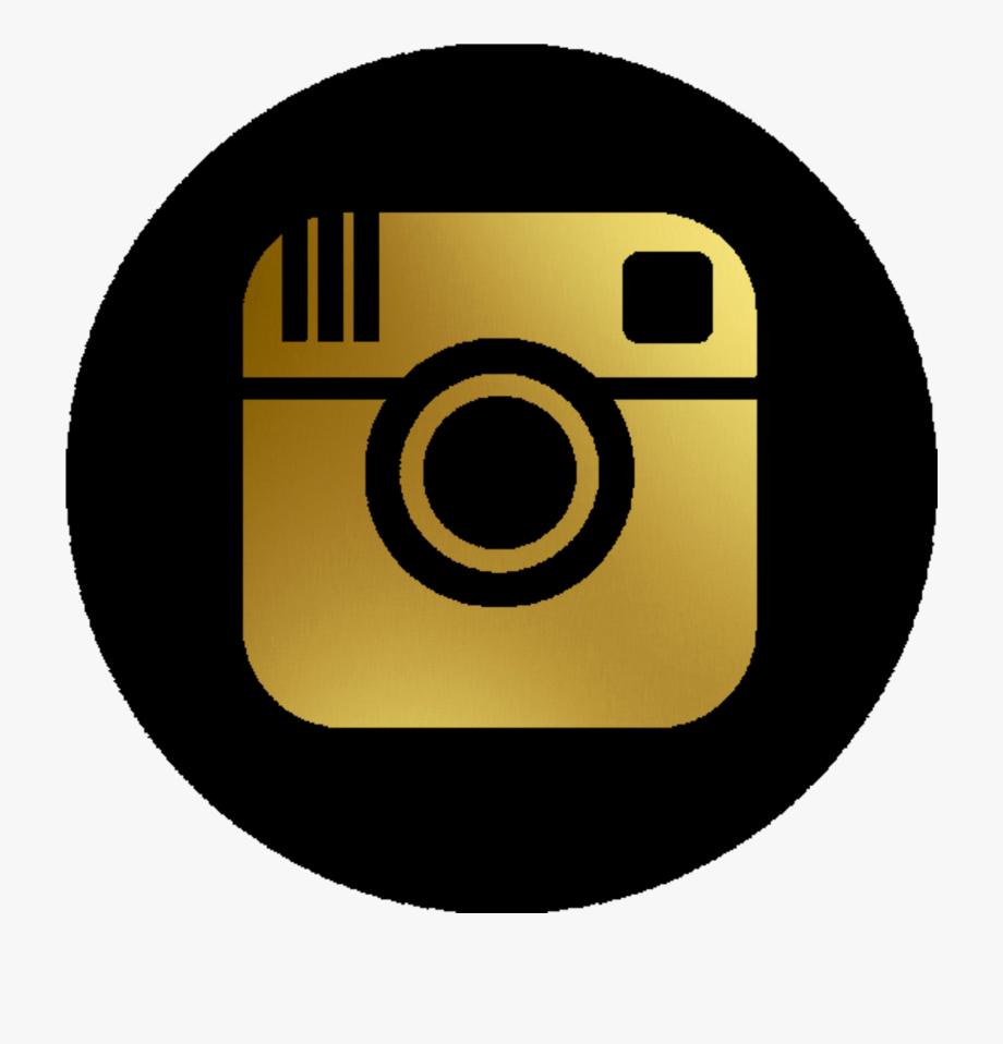 Instagram transparent logo dark icon