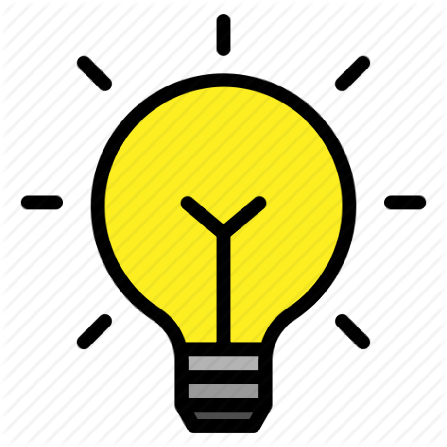 Light bulb bright idea