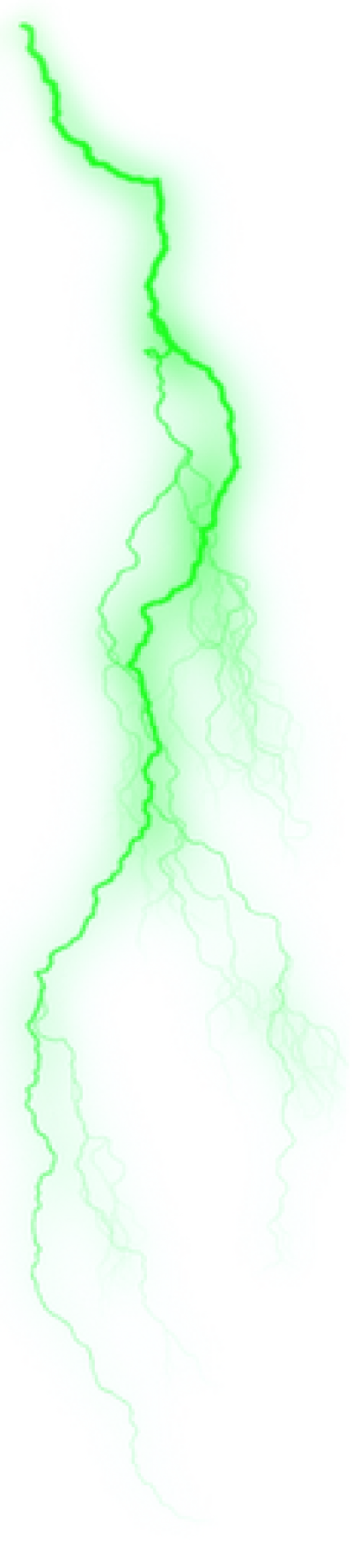 Download High Quality lightning transparent green ...