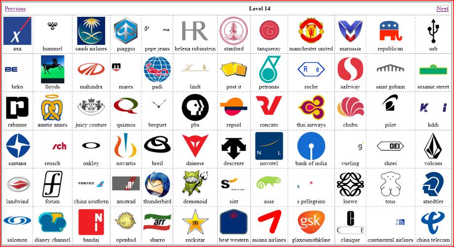 лого квиз все ответы с картинками год
