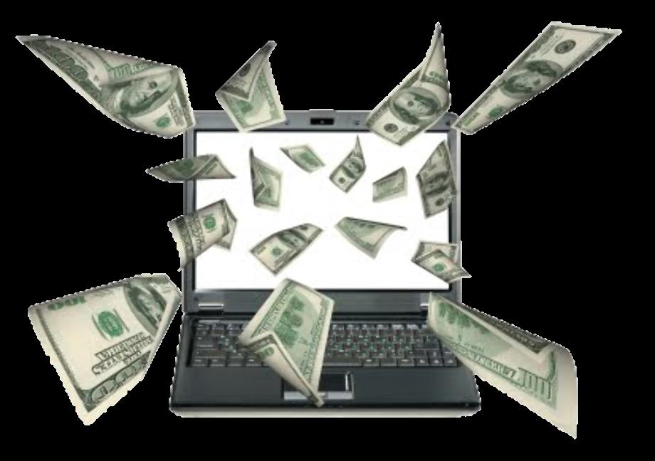 Make image transparent online money