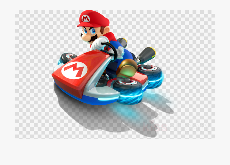 Mario transparent kart