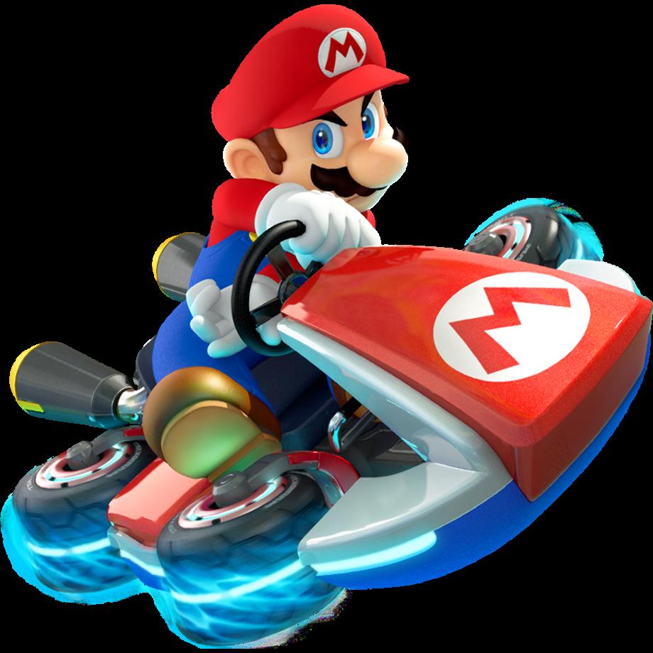 Mario transparent kart png