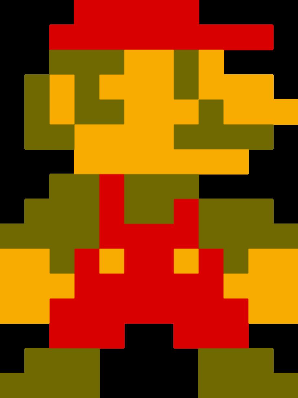 Mario transparent old school