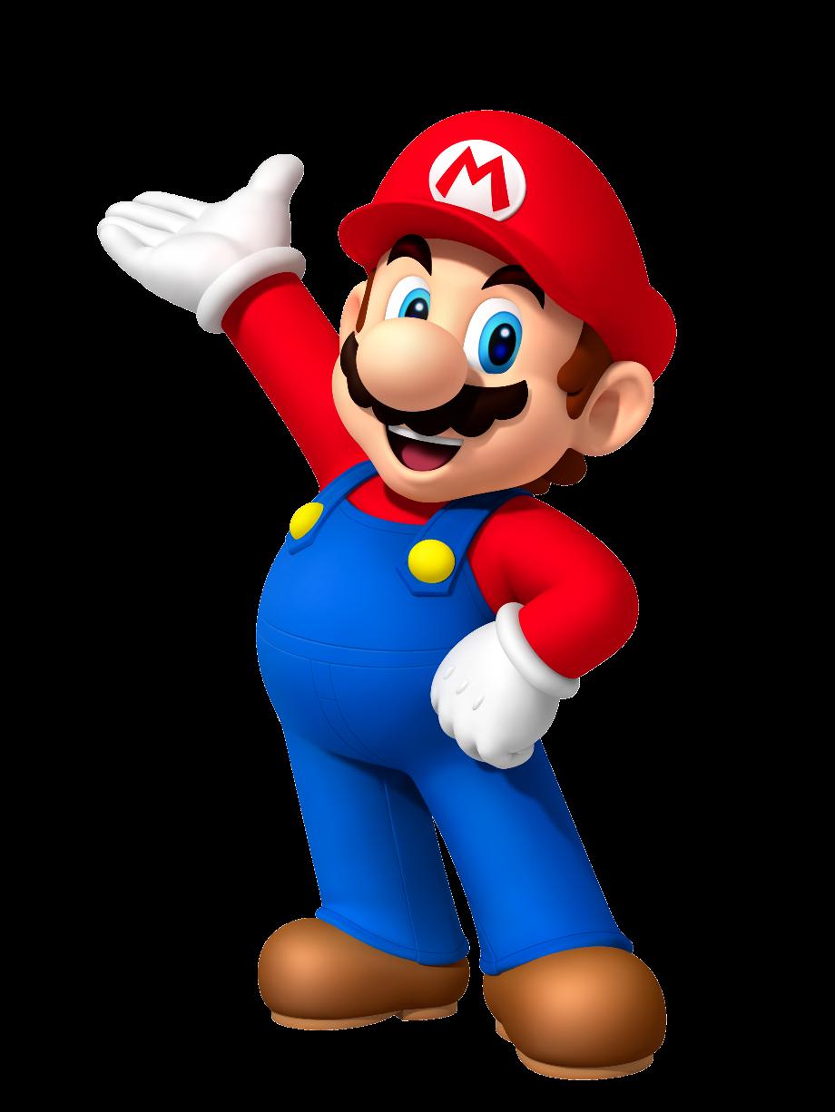 Mario transparent