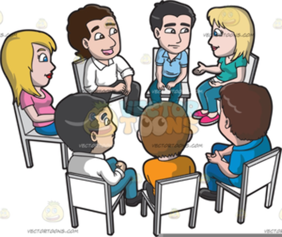 Meeting clipart group free
