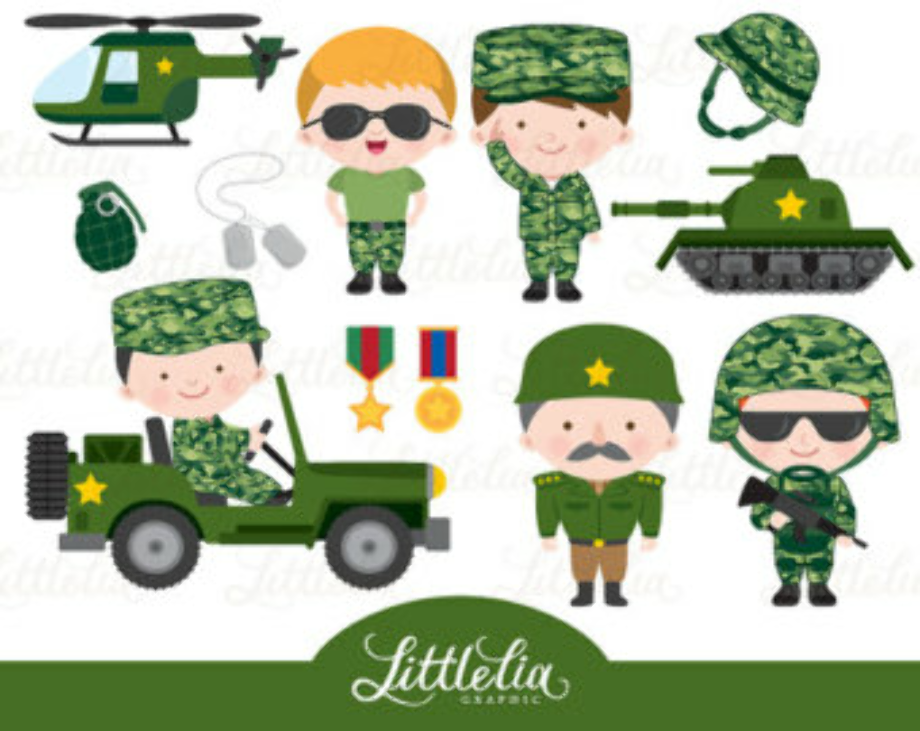military clipart powerpoint