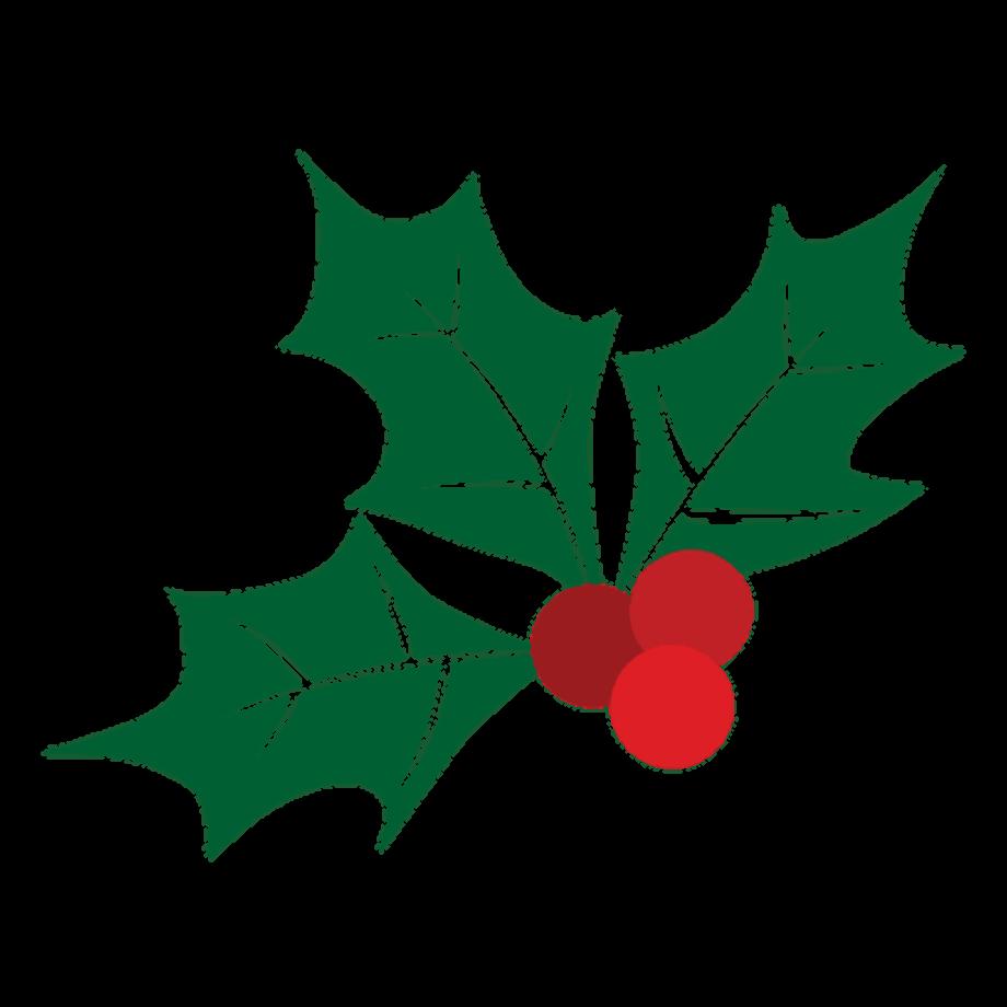 Mistletoe clipart silhouette plant