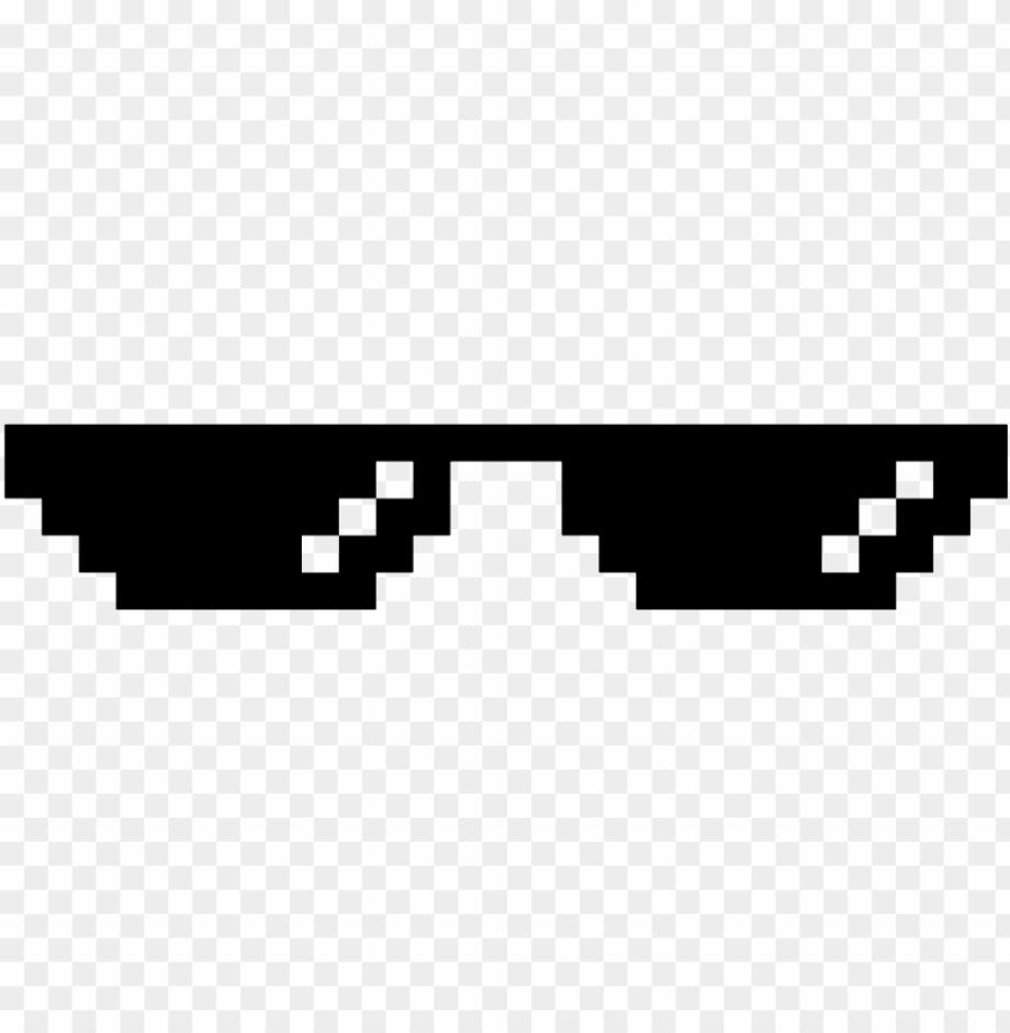 Mlg glasses transparent diagonal