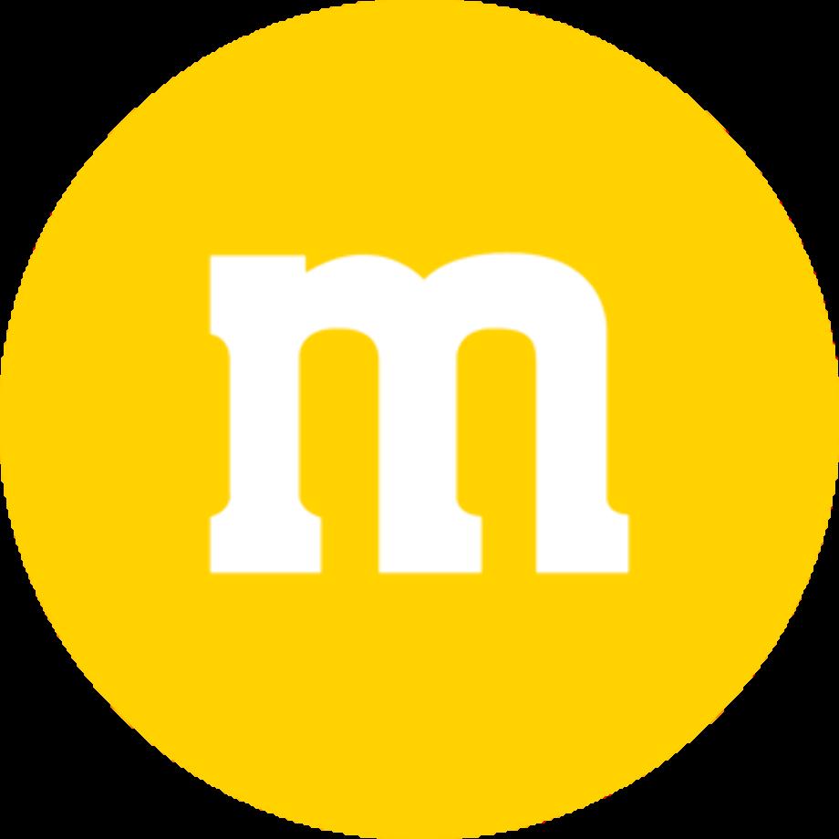 M&m logo symbol personalized