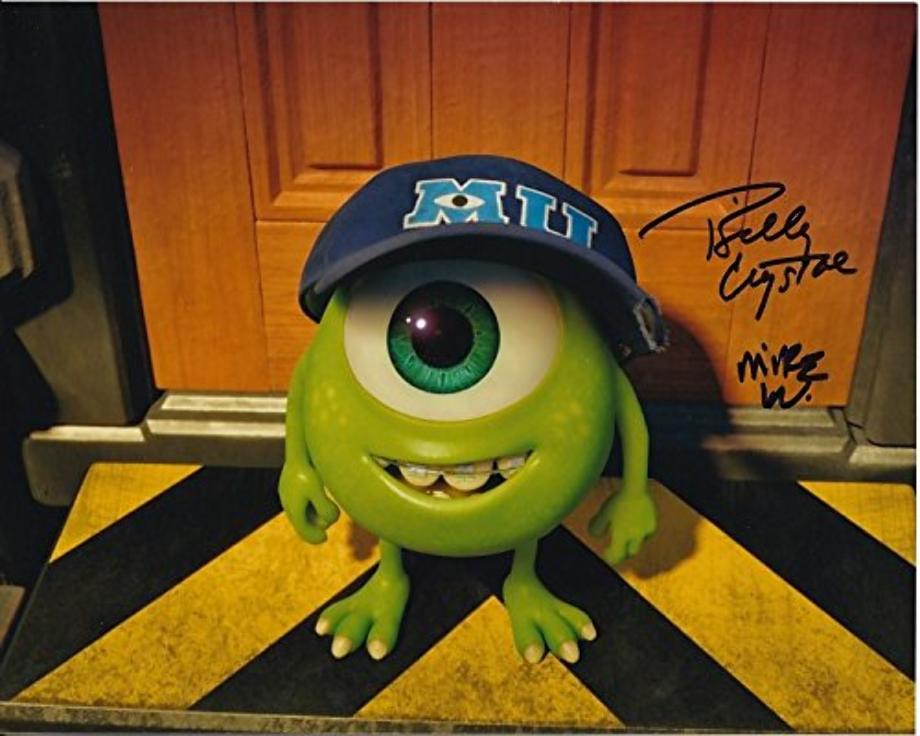 Monsters inc logo mike wazowski