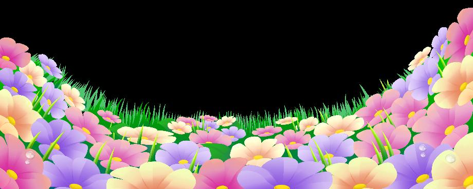 Flower clipart garden background