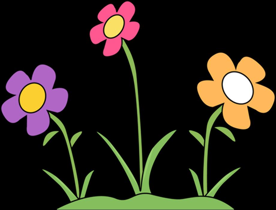 Flower clipart garden free