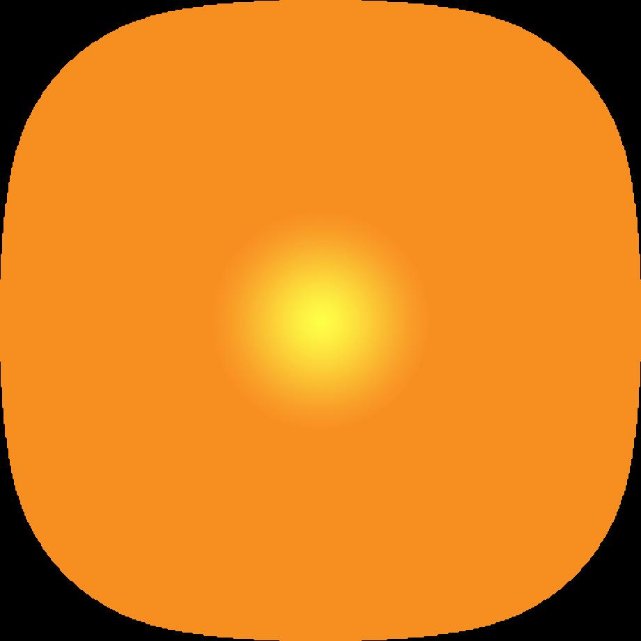 Sun transparent background space